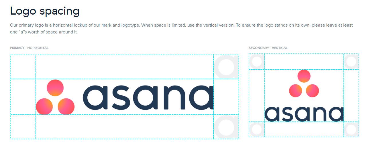 Asana брендбук