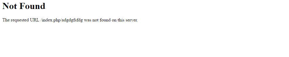 Страница 404 50% российских сайтов